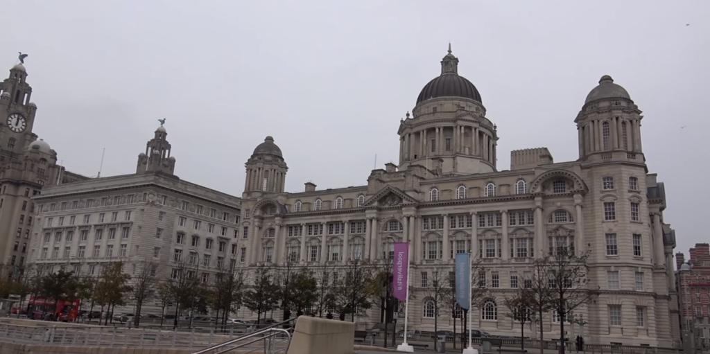 la ciudad de Liverpool